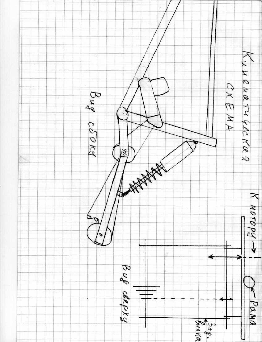 ниже изображена кинематическая схема передачи от двигателя к заднему колесу Колесо не показано Сборочный чертеж узла...